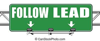 follow or lead