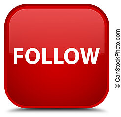Follow special red square button