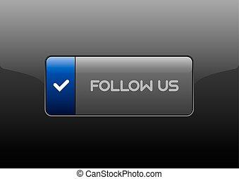 Follow Us Button