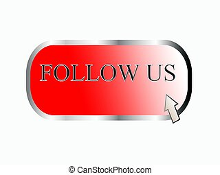 Follow us, button