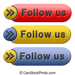follow us - Follow us online and like to join our media ...