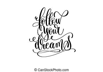 Follow your dreams Vector Clip Art EPS Images. 321 Follow ...