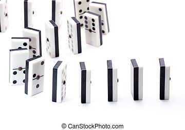 following the domino