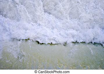 folyó, zúgó
