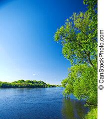 folyók, természet