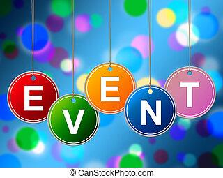 fonctions, événement, indique, expériences, evénements,...