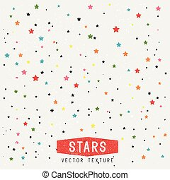 fond, étoiles, texture