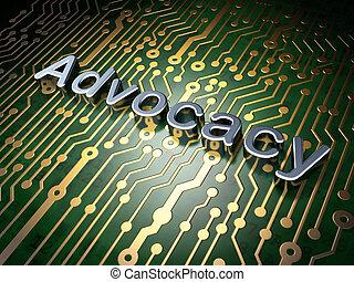 fond, advocacy, planche, circuit, droit & loi, concept: