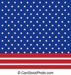 fond, américain, symbolizing, drapeau, 4ème, étoiles, juillet, jour, indépendance