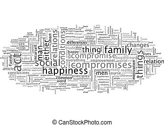 fond, ambits, texte, famille, concept, wordcloud