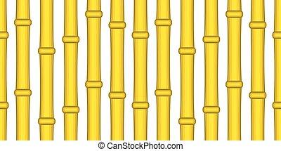 fond, bambou, seamless