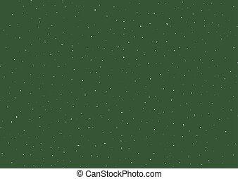 fond, blanc, beaucoup, étoiles, vert