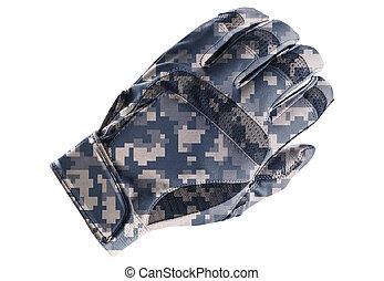 fond blanc, isolé, gant