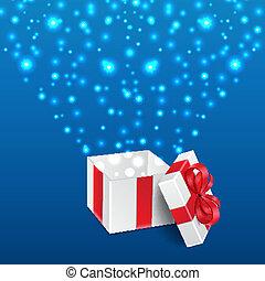 fond, cadeau