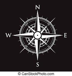 fond, compas