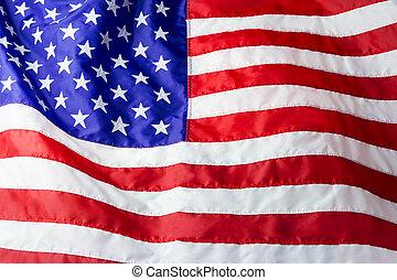 fond, drapeau, américain