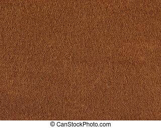 fond, feutre, brun