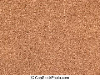 fond, feutre, léger brun