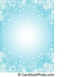 fond, flocon de neige