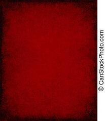 fond foncé, rouges