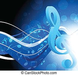 fond, g-clef