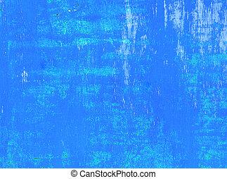 fond, grunge, bleu