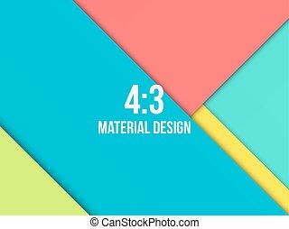 fond, moderne, matériel, inhabituel, conception