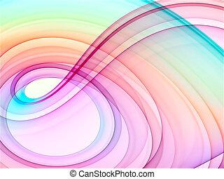 fond, multicolore