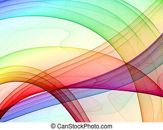 fond, multicolore, résumé