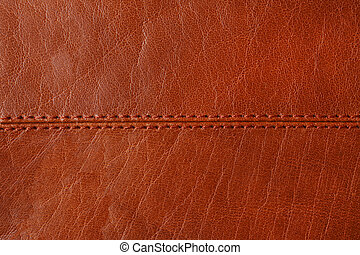 fond, naturel, brun, cuir