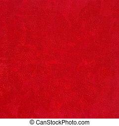 fond, noël, écrasé, rouges, hautement