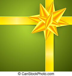 fond, or, résumé, vecteur, joyeux, vert, noël