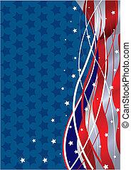 fond, patriotique