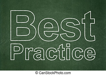 fond, pratique, concept:, apprentissage, mieux, tableau