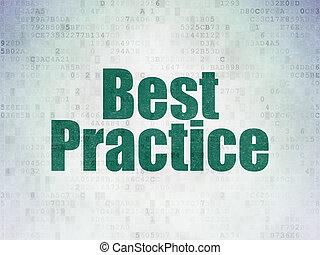 fond, pratique, papier, mieux, apprentissage, numérique, données, concept: