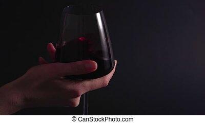 fond, processus, statique, coup, alcohol., tourne, expert, ...