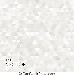 fond, résumé, blanc, moderne, triangles