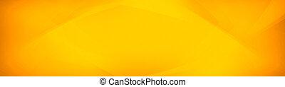 fond, résumé, moderne, jaune