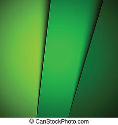 fond, résumé, vecteur, vert, illustration
