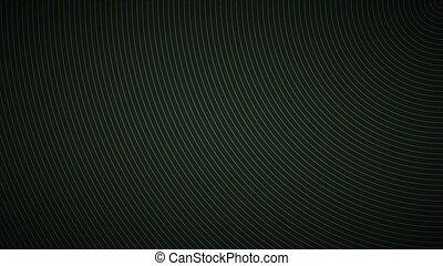 fond, résumé, vert, circulaire, fond, noir, moderne, lignes