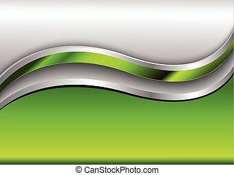 fond, résumé, vert