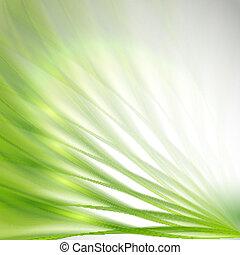 fond, résumé vert
