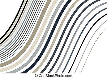 fond, raies, conception modèle, ondulant, lignes, résumé, element., couché, travers, coloré, diagonal, inclinaison, darkish, houleux, texture, onduler, ondulé, olbique