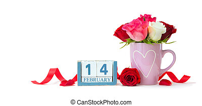 fond, saint-valentin