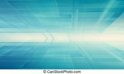 fond, technologie, futuriste