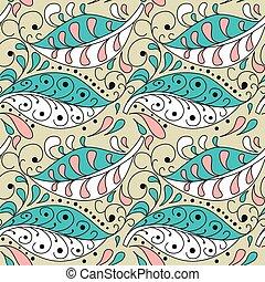 fond, textile, modèle, couverture, résumé, two-color, twig., cape, seamless, tissu