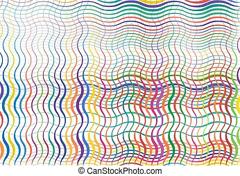 fond, texture, coloré, multi-couleur, grille, lignes, ...