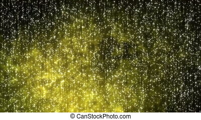 fond, univers, clair, noir, étoiles, lueur