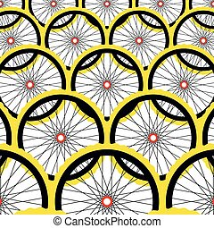 fond, vélo, wheels.