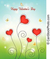 fond, valentin